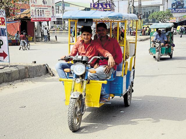 Transport department issued licence to 31 people who will receive an e-rickshaw at the Prime Minister's event on April 5.