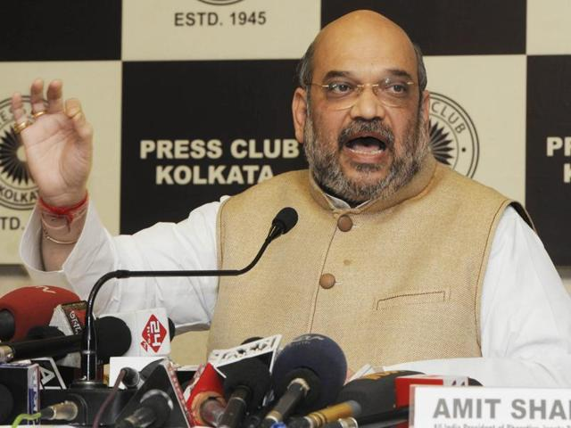 When Congress-led UPA government was in power, India was being run from Italy, BJP president Amit Shah said  on Thursday in a retort to Congress Vice President Rahul Gandhi.