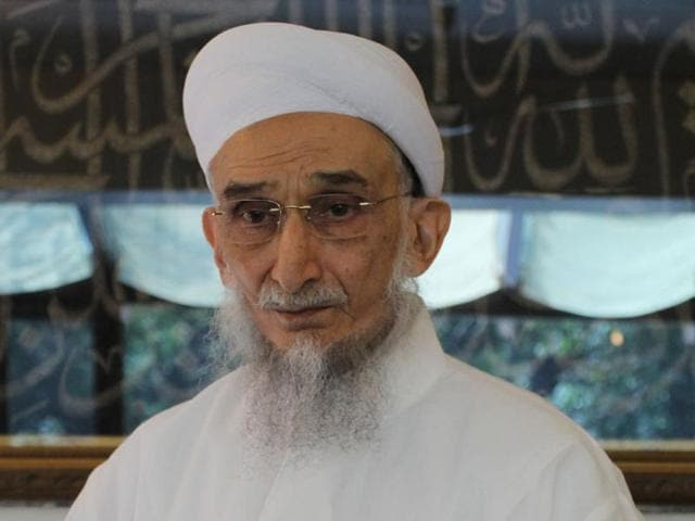 The self-proclaimed 'Syedna' Khuzaima Qutbuddin was 75 and had been ailing since some time and was said to be in California.