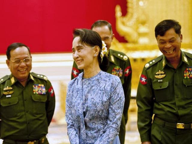Aung San Suu Kyi,Democracy in Myanmar,Myanmar democratic president
