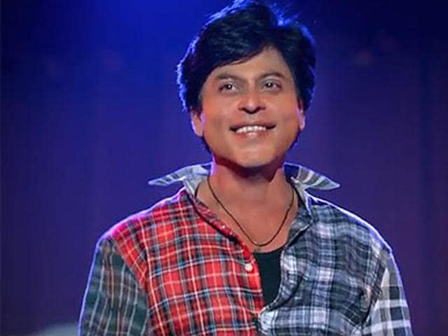 Shah Rukh Khan in and as Fan. the film received seven cuts from censor board.