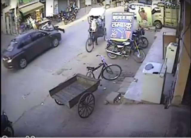 Gurgaon hit and run