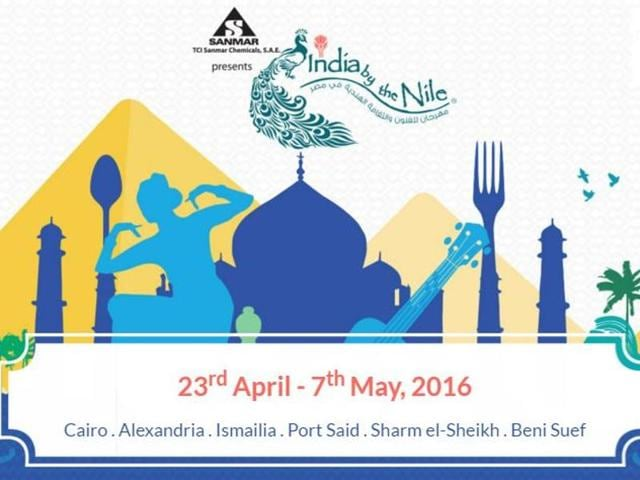 The India by the Nile festival will be held in several cities in Egypt like Cairo, Alexandria, Ismaila, Port Saeed, Bani Suef and Sharm el-Sheikh.