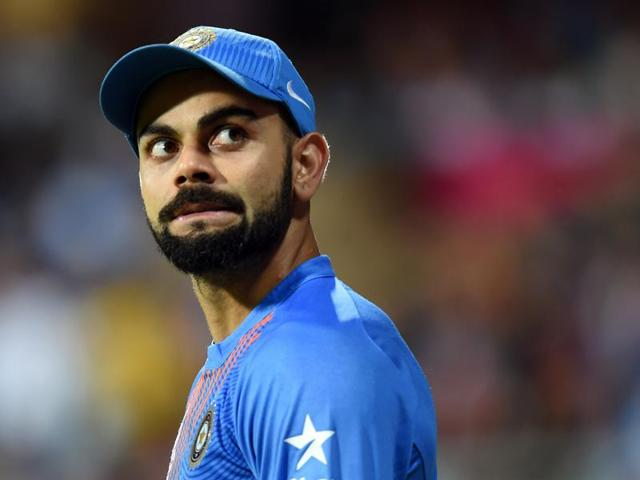 As if his 47-ball 89 wasn't enough, Virat Kohli also chipped in with the ball, taking a wicket to break the 97-run partnership between Lendl Simmons and Johnson Charles.