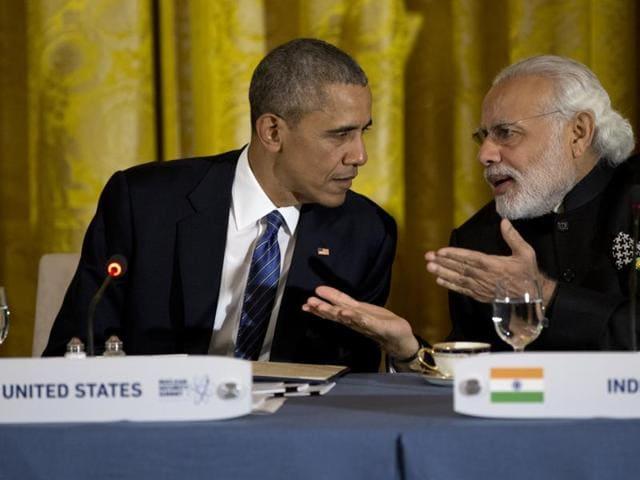 Nuclear summit,Modi,Obama