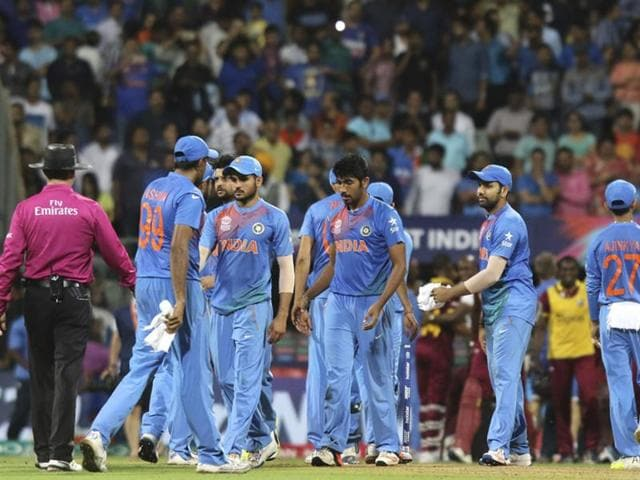 India lost to West Indies in the semi final of the World 20  by seven wickets.