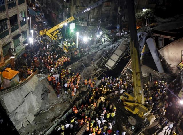 An under-construction flyover collapsed on Thursday in a congested market in central Kolkata, killing at least two dozen people and trapping hundreds underneath it. The opposition is blaming the state government is hopes to use the tragedy to dent the Trinamool Congress' chances in the assembly polls.