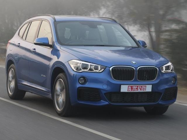The new X1 is distinctly BMW in terms of looks.