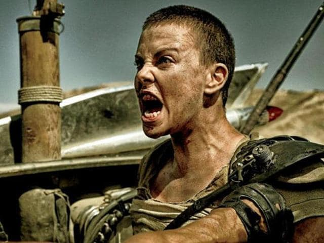 Charlize Theron as Imperator Furiosa in Mad Max: Fury Road.