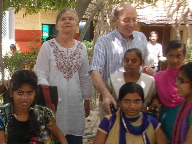 Dr Moreno Toldo is an Italian doctor who moved to Varanasi 10 years ago. He works with Kiran Society to spread awareness about autism as well as provide education and vocational skills to those within the autistic spectrum.
