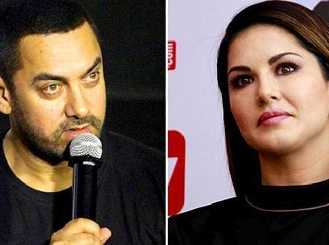 Aamir supported Sunny leone during a recent controversy.