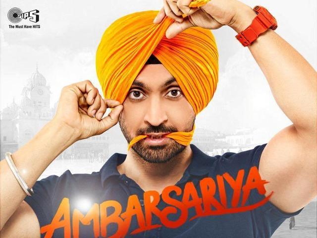 Ambarsariya follows the story of a man who lives a dual life as a member of RAW and an insurance agent.