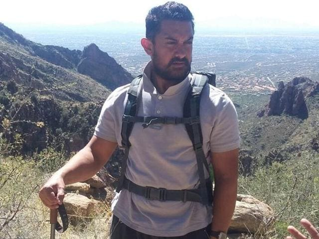Aamir Khan took off to Arizona in the US to lose weight. He has lost around 13kg in three months already.