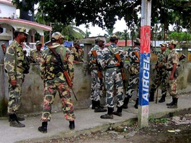 Chhattisgarh,Sukma district,CRPF personnel injured
