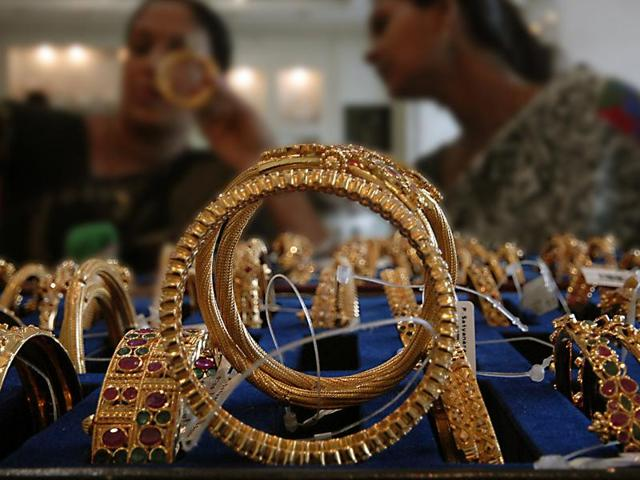 Gold is ruling at over Rs 30,000 per 10 grams.