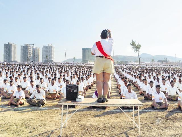 RSS,Vande Mataram,Jana Gana Mana