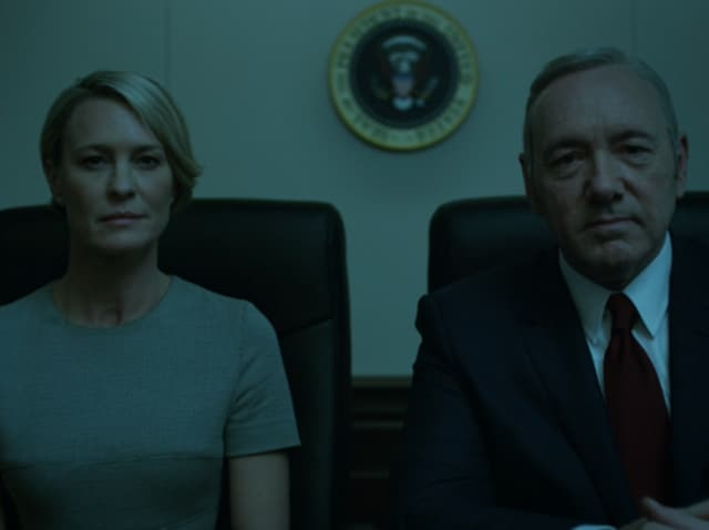 Frank and Claire are the soul of the show. It soars when their ruthlessness teams up, and on paper, it has no right to be as good as it is when they're pulled apart.(Netflix)