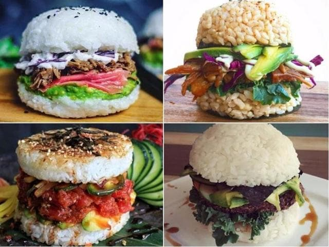 In pics: Sushi burgers are now a thing, and they're all over Instagram