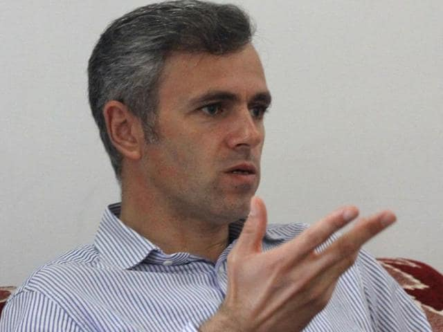 File photo of Omar Abdullah, former chief minister of Jammu and Kashmir.