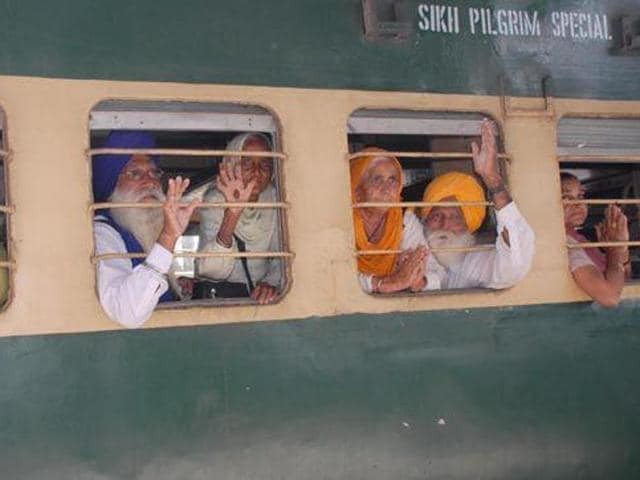 The 'jatha' will leave by special trains from Attari railway station and reach Panja Sahib (Hasan Abdal) the same day.