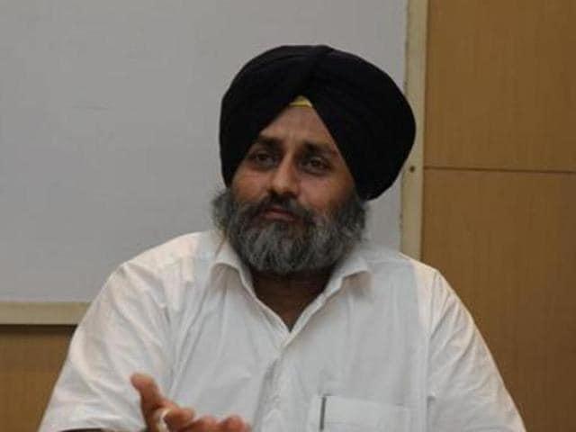 SAD president Sukhbir Singh Badal