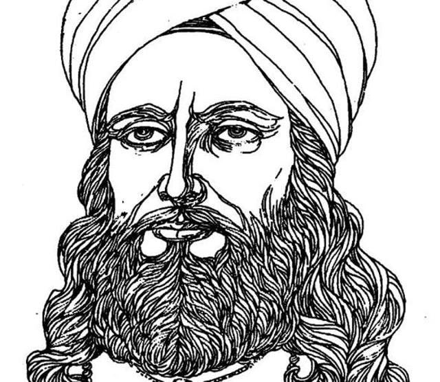 Waris Shah as imagined by Imroz