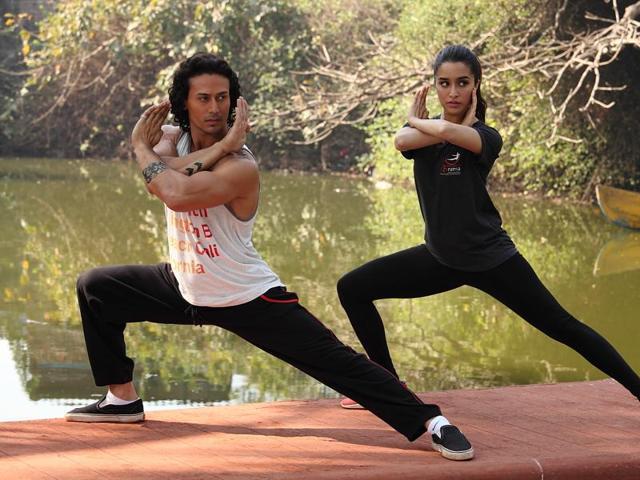 Baaghi,Tiger Shroff,Shraddha Kapoor