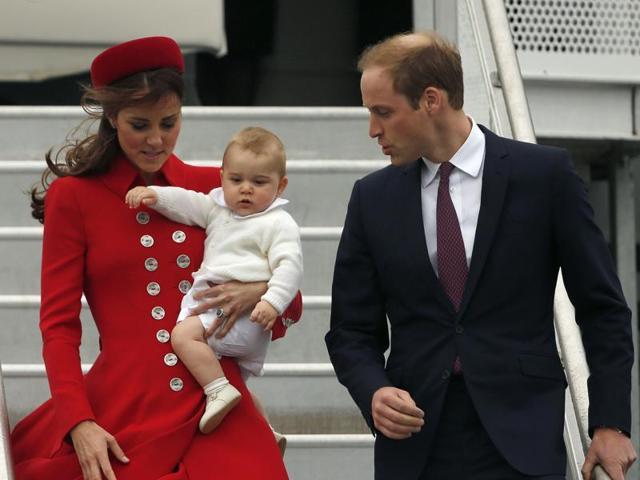 Kate Middleton,Prince William,Prince George
