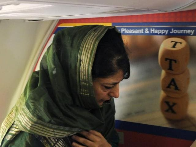 Mehbooba Mufti has joined the woman chief ministers' club currently in office in four states.(AFP)