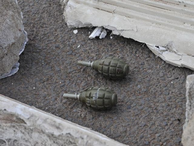 Bomb experts found 20 grenades, four pistols, 20 bullets and bomb-making materials in the house at Mohipur village of Bogra district.