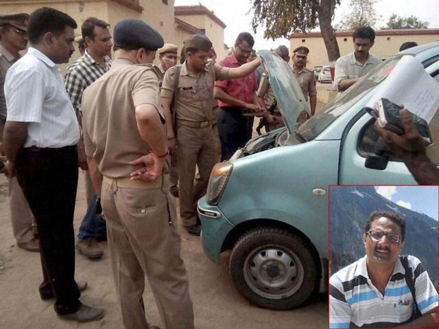 NIAofficer Ahmed died on Sunday after unknown assailants pumped 21 bullets into him while he was returning from a wedding in Uttar Pradesh's Bijnor district after midnight on Saturday.