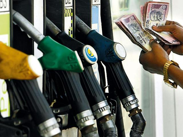 Petrol prices were hiked by Rs 2.19 per litre on Monday while the diesel prices went up by Rs 98 paise per litre.