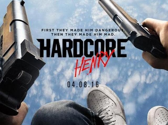 Hardcore Henry is shot entirely in the first person.