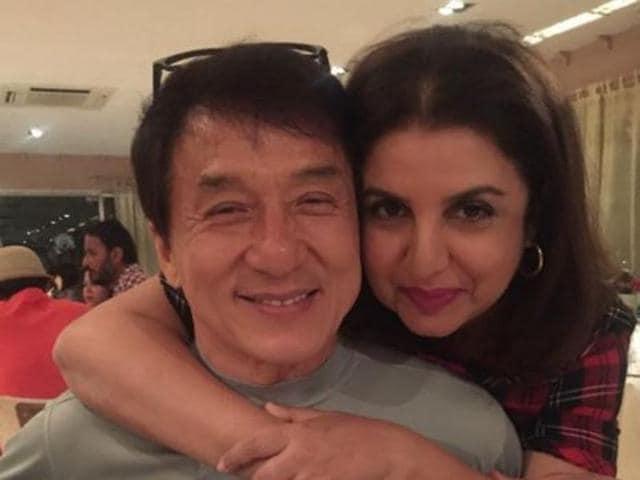 Hollywood,Jackie Chan,Farah Khan