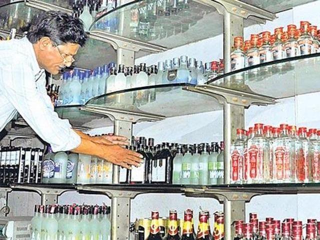 Liquor vends