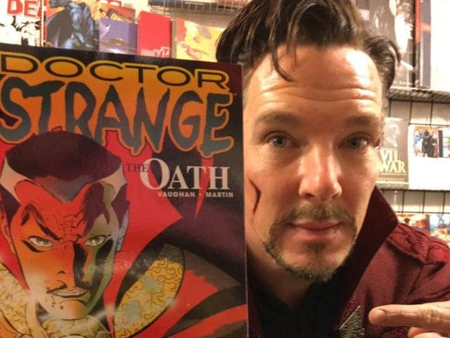Benedict Cumberbatch just proved that he's the coolest guy ever.