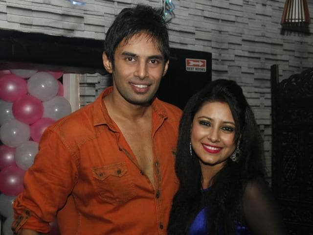 A file picture of Rahul Raj Singh and Pratyusha Banerjee. Pratyusha committed suicide on Friday.