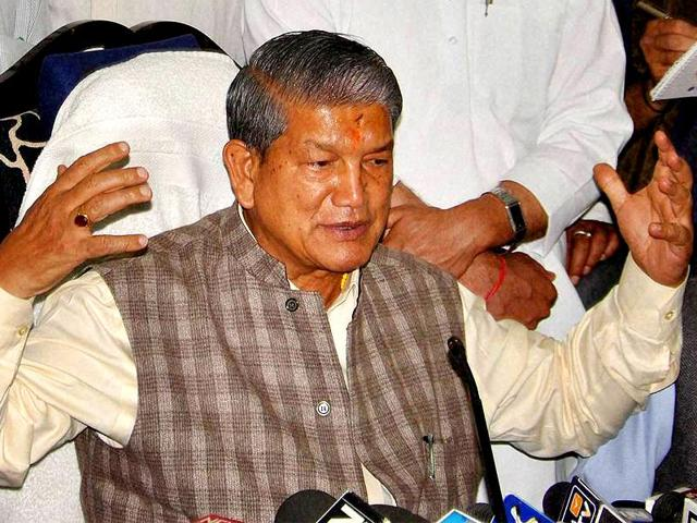 Former chief minister Harish Rawat accused the BJP of trying to stop his padyatras by getting IPC Section 144, which does not permit public gatherings, clamped in the state.