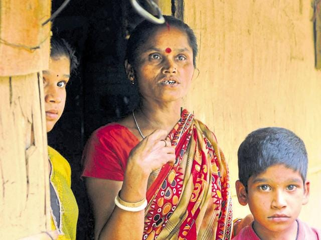 Anna Rani Ghosh , a resident of Krishnai in lower Assam, was declared a foreigner five years ago. Since then she has been hiding from the police fearing arrest and being sent to the detention camp.