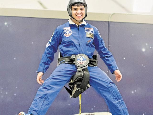 Siddharth Sachdeva of Mount Carmel School participated in simulated space missions which taught him about team work and value of time.