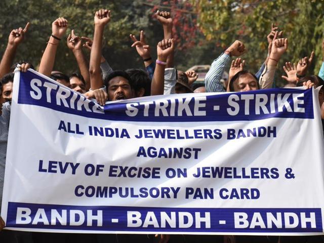 Jewellers strike