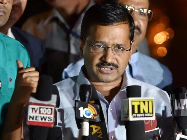 """The BJP government has stabbed """"Mother India"""" in the back by allowing Pakistan's Inter-Services Intelligence (ISI) inside the country to probe the Pathankot attack, Delhi Chief Minister Arvind Kejriwal said on Tuesday."""