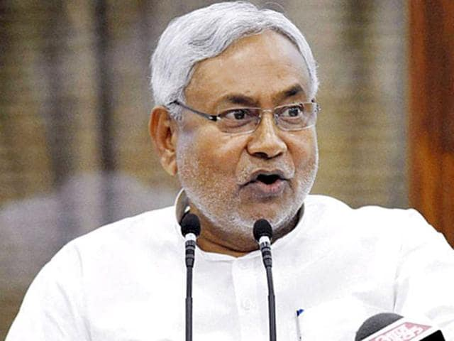 Bihar chief minister Nitish Kumar had made a poll promise to curb the drinking habit among men.(HT file photo)