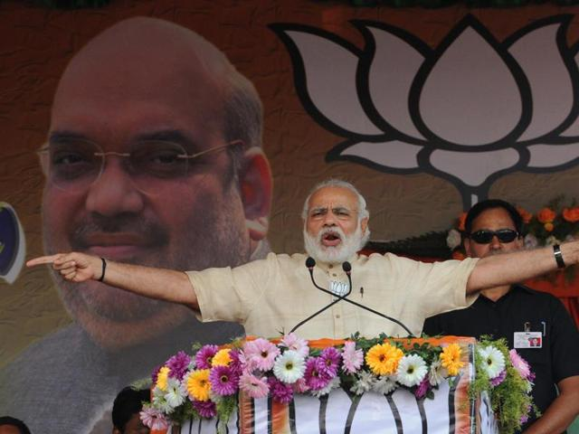 As Prime Minister Narendra Modi goes to Noida on Tuesday evening to distribute e-rickshaws and disburse cheap loans, he will try to woo Dalits and women ahead of next year's assembly election in Uttar Pradesh.