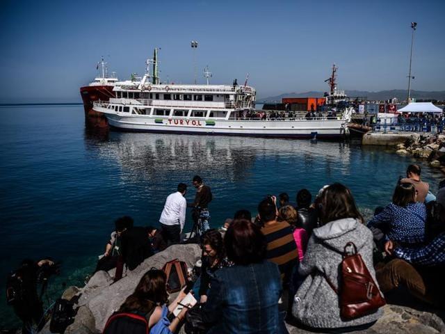 Greece,Migrants,Syria war