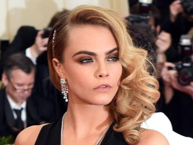 Model and actor Cara Delevingne is known for her power brows. She brought back thick, framing eyebrows in fashion.