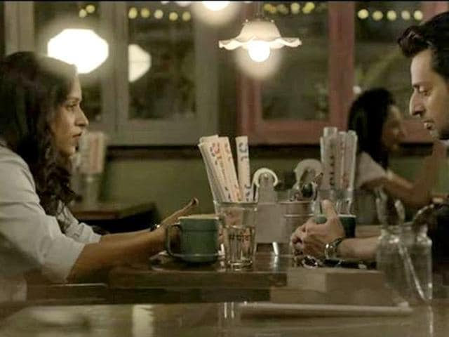 Tillotama Shome, Salim Merchant in a still from Fired. (YouTube)