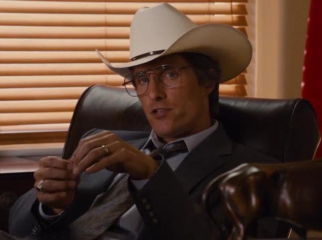 Matthew McConaughey in a still from Bernie.