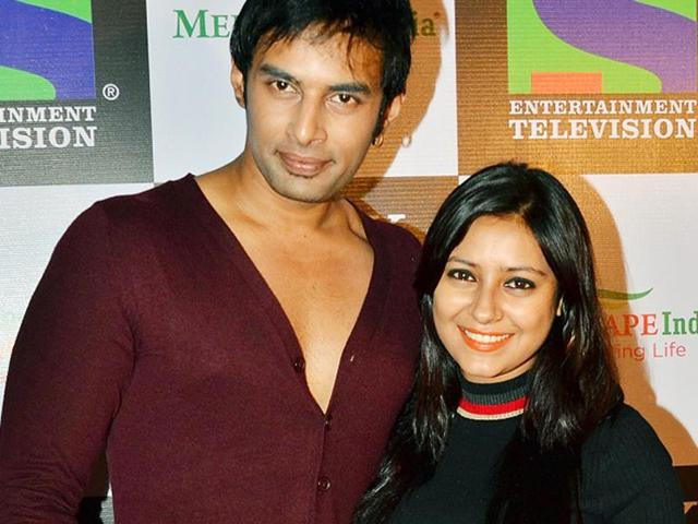 A file picture of Pratyusha Banerjee and Rahul Raj Singh.