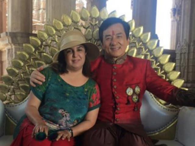 Farah Khan,Jackie Chan,Kung Fu Yoga